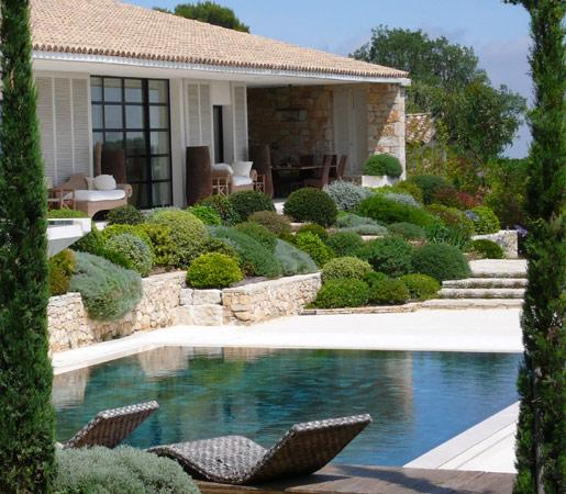 Votre jardin et contour de piscine