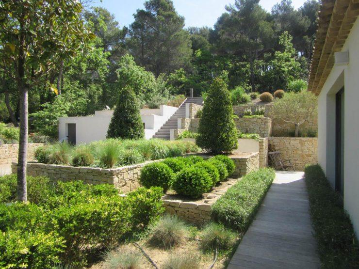Projet d\'aménagement d\'un jardin contemporain à Aix en ...