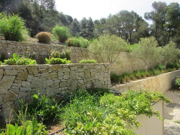 jardin paysagé par sud créations paysages