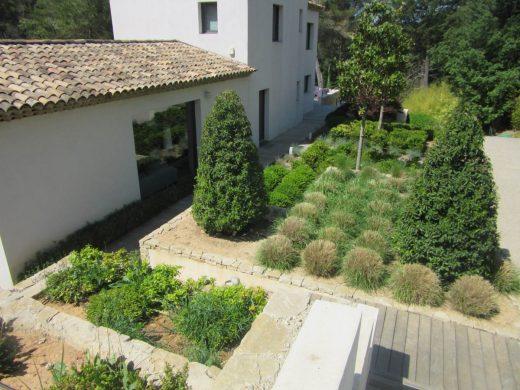 création de jardin par Sud Créations Paysages