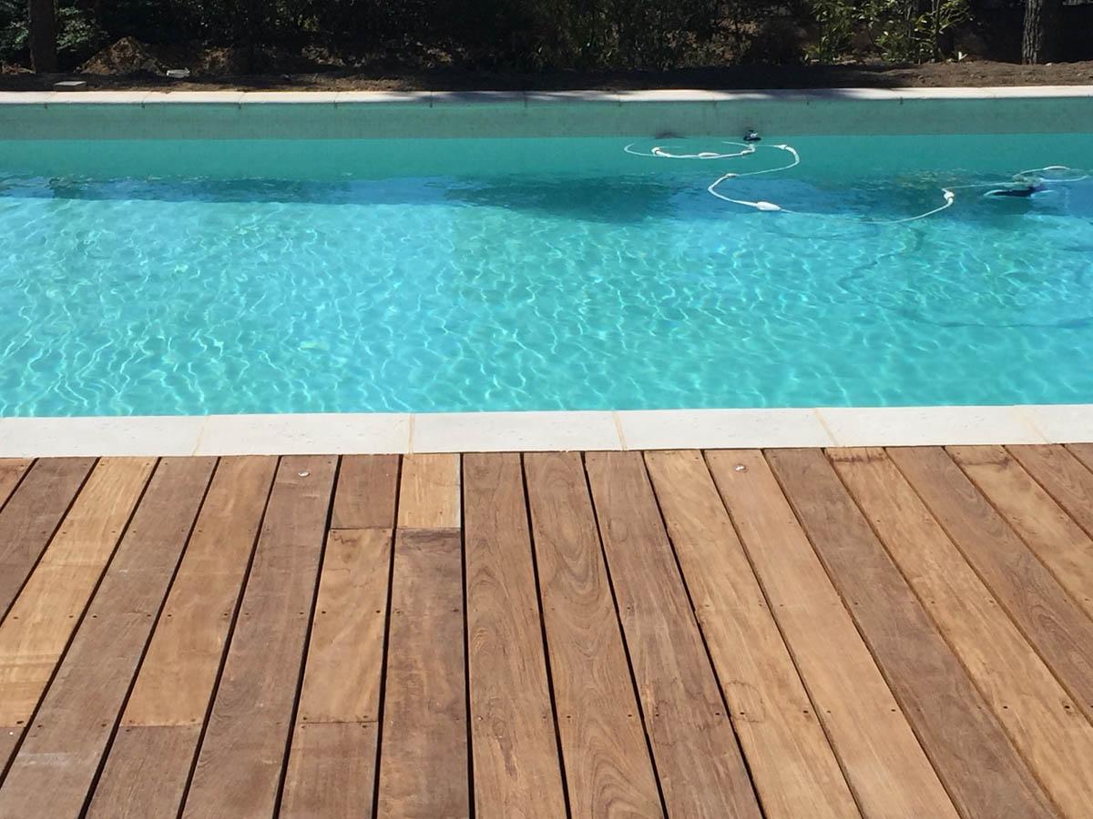 Entretien de jardin avec piscine