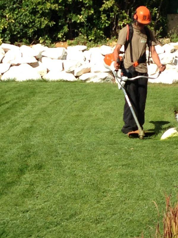 entretien de jardins dans résidences secondaires....